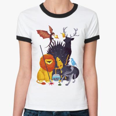 Женская футболка Ringer-T Добрая Игра престолов