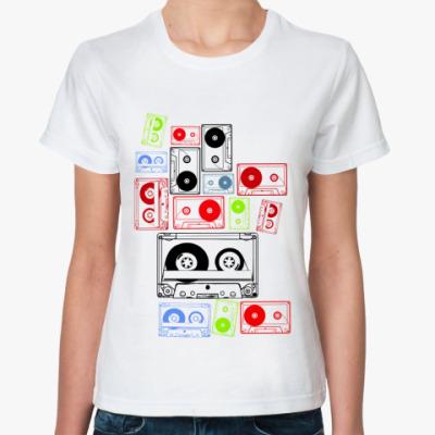 Классическая футболка Аудио Кассеты