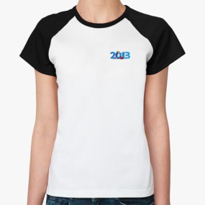 Женская футболка реглан  2013