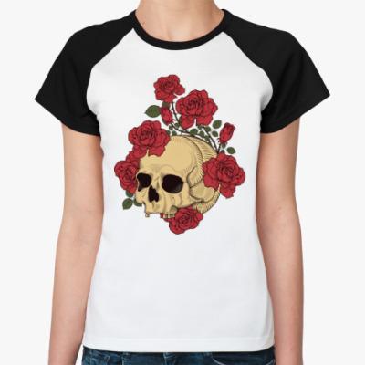Женская футболка реглан The Dead Garden