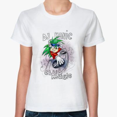 Классическая футболка DJ Manic