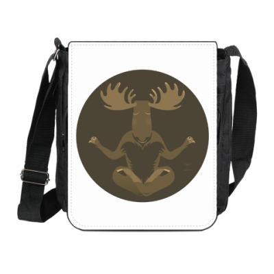 Сумка на плечо (мини-планшет) Animal Zen: M is for Moose