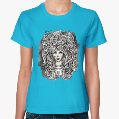 Женская футболка Ukrainian girl