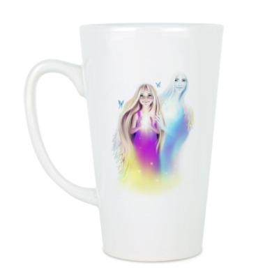 Чашка Латте 'Всегда Хранима'