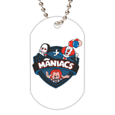 Жетон dog-tag Maniacs