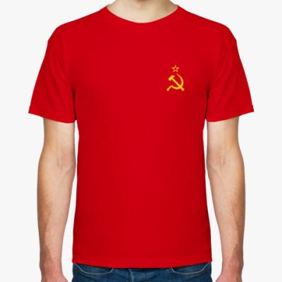 Футболка Футболка с Гербом СССР