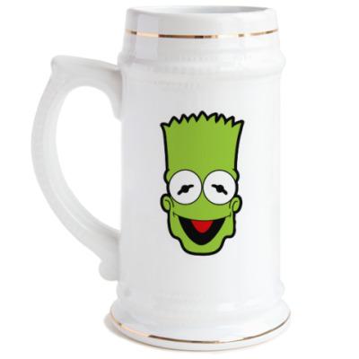 Пивная кружка Барт - Кермит