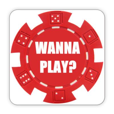 Костер (подставка под кружку) Покер