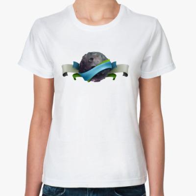 Классическая футболка Moon Rock