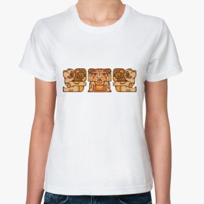 Классическая футболка Индейцы