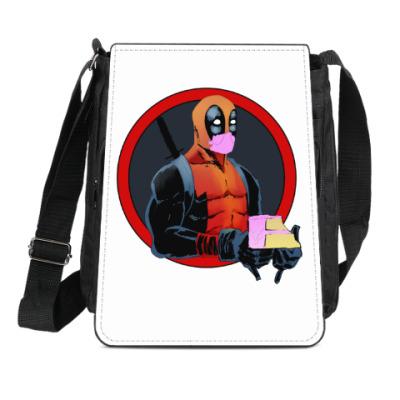 Сумка-планшет Deadpool cake
