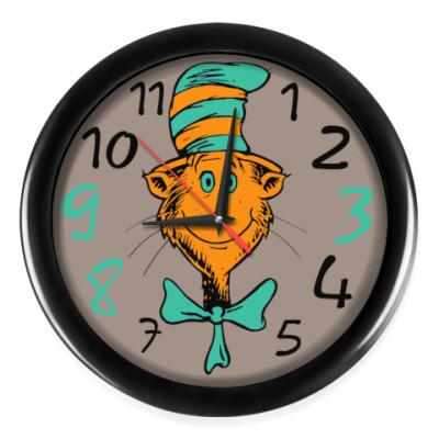 Настенные часы А какого цвета кот нужен вам?