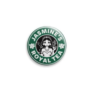 Значок 25мм Жасминовый чай