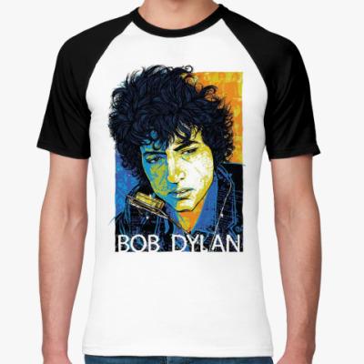 Футболка реглан Bob Dylan