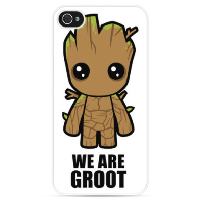 Чехол для iPhone We are Groot