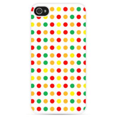 Чехол для iPhone Dots Warm