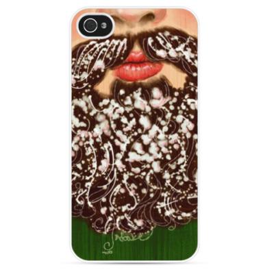 Чехол для iPhone Снежная борода