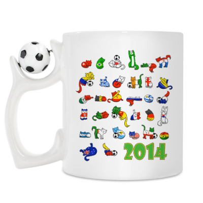 Кружка FIFA 2014
