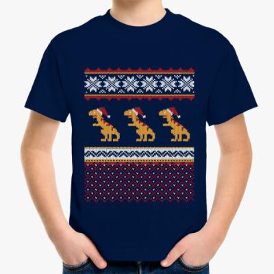 Детская футболка Динозавр