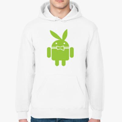 Толстовка худи Андроид плейбой