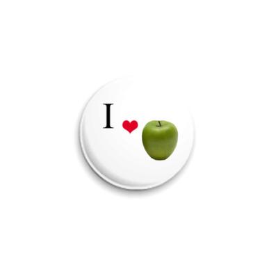 Значок 25мм  25 мм, Apple