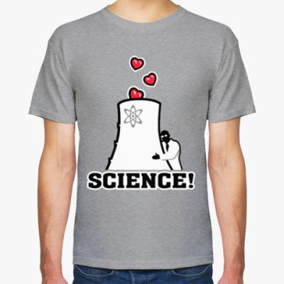 Футболка Science! Ядерная физика