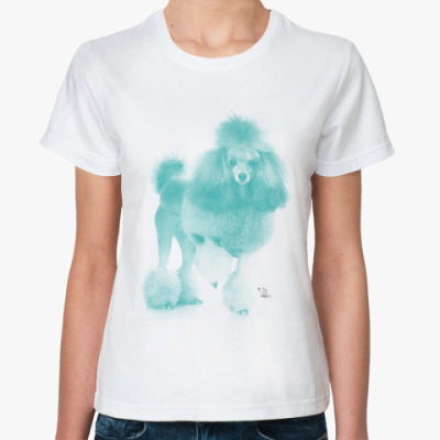 Классическая футболка Пудель
