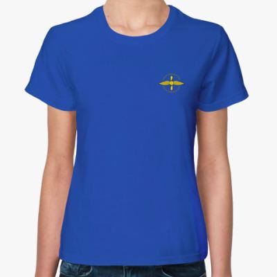 Женская футболка Футболка с эмблемой ВВС