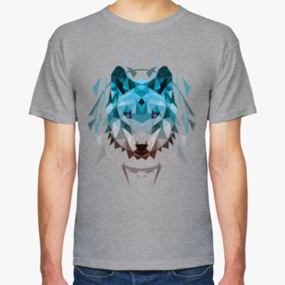 Футболка Геометрический Волк