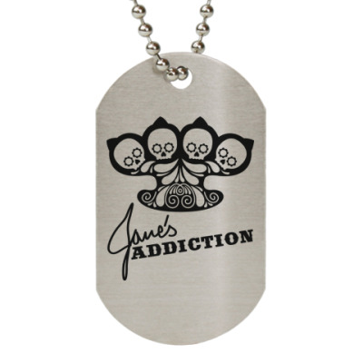 Жетон dog-tag Jane's Addiction