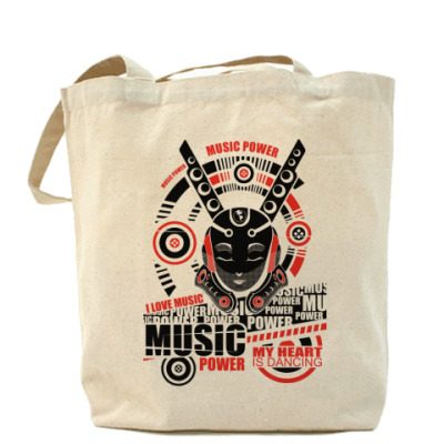 Сумка Music Холщовая сумка