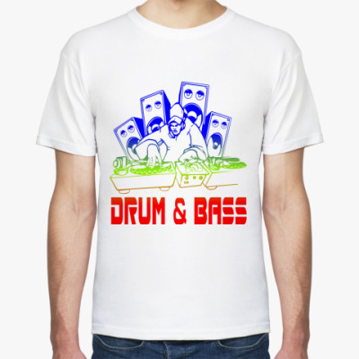 Футболка Drum & Bass