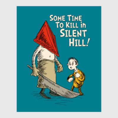 Постер Silent Hill Pyramid Head