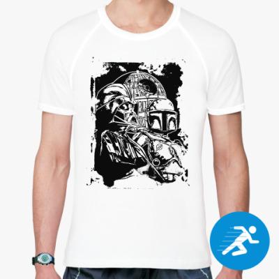 Спортивная футболка Дарт Вейдер и Боба Фетт