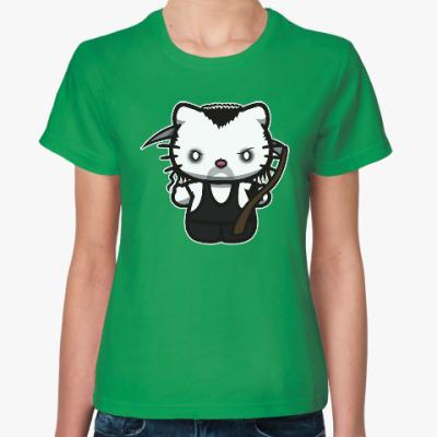 Женская футболка Kitty Undertaker