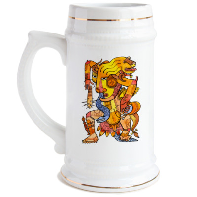 Пивная кружка Lion-hunter