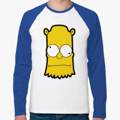 Футболка реглан с длинным рукавом Crazy Bart