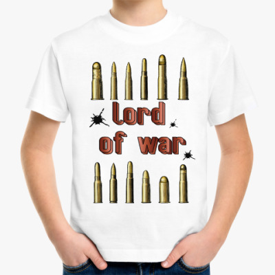 Детская футболка Lord of war
