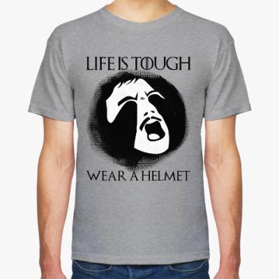 Футболка  Wear a helmet