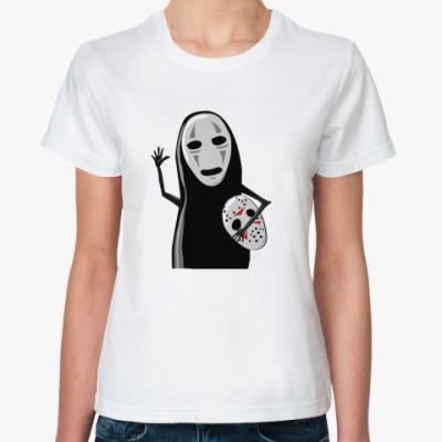 Классическая футболка безликий