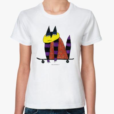 Классическая футболка 'Скейт'