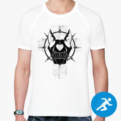 Спортивная футболка Dog skull