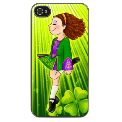 Чехол для iPhone Irish dancing girl