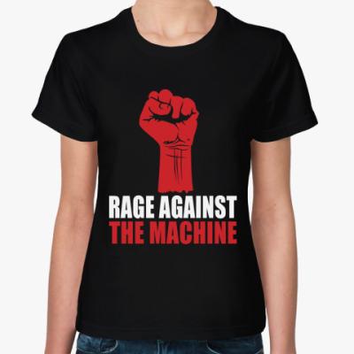 Женская футболка Rage Against the Machine