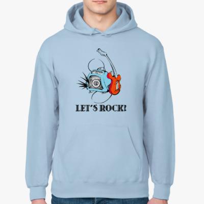 Толстовка худи Let's Rock!