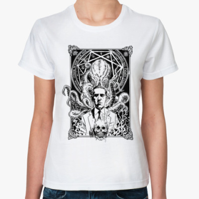 Классическая футболка Лавкрафт