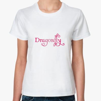 Классическая футболка 'Стрекоза'
