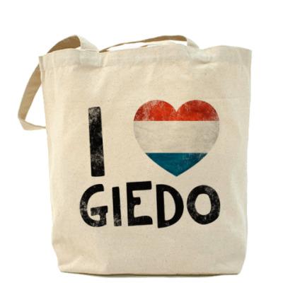 Сумка I LOVE GIEDO