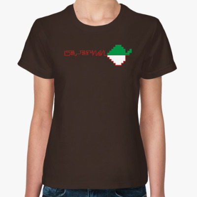 Женская футболка Серия «Я люблю Березники»
