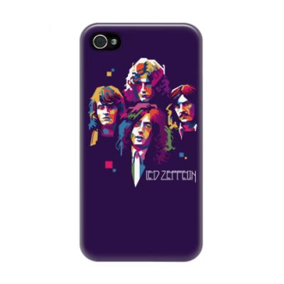 Чехол для iPhone 4/4s Led Zeppelin